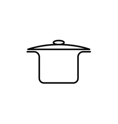 pan icon vector image