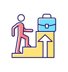 Promotion rgb color icon vector