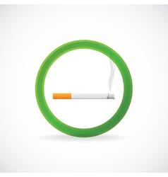 Smoking allowed vector image