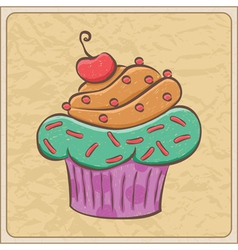 cupcakes03 vector image