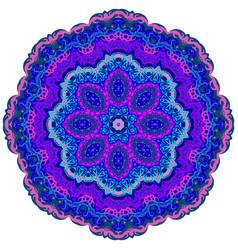 ornamental colorful ornament elements mandala vector image