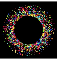 modern colorful circle abstract background vector image