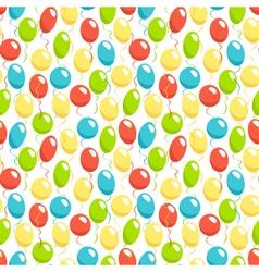 Seamless bright fun celebration festive air vector image vector image