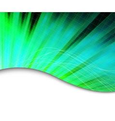 green burning background vector image