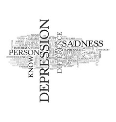Are you depressed or unhappy what is the vector