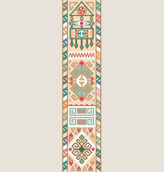 eastern arab middle asian persian ornament vector image