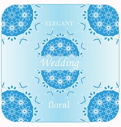 Elegant premade logo feminine blue branding vector