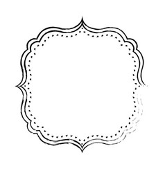 Frame decoration emblem vector