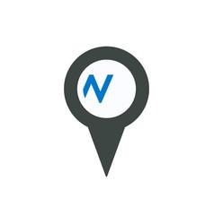 Location marker pin pointer url web www icon vector