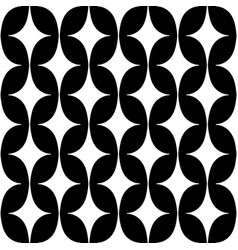 pattern with curved rhombus vector image