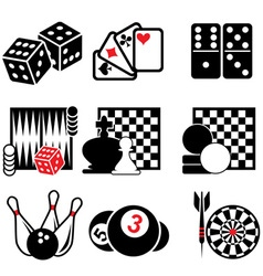 set game icons part 1 vector image
