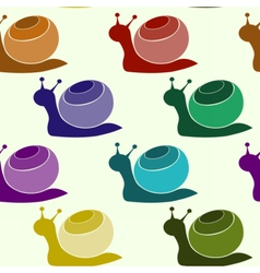 snailpat5 vector image vector image
