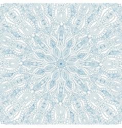 Vintage blue background for invitation vector image