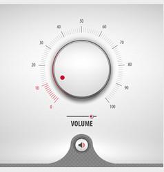 Volume for media player vector