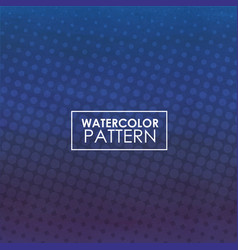 Watercolor pattern background vector
