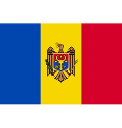 Flag of Moldova vector image