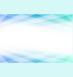 blue and green abstract background with copy space vector image vector image