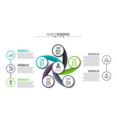creative concept for infographic vector image vector image