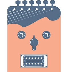 Music Dial Pickup Face vector image vector image