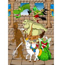 fairy villains vector image vector image