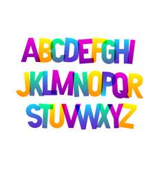 Bold bright condensed gradient grotesque vector