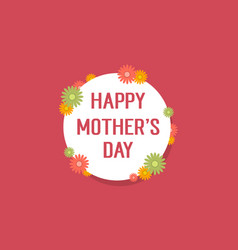 Collection background mother day style vector