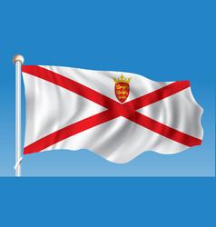 Flag jersey vector