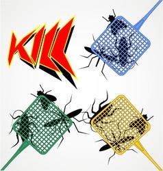 Kill symbol vector image