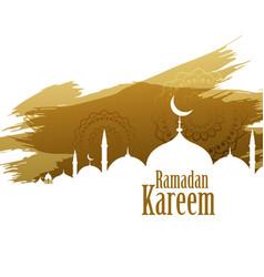 Ramadan kareem abstract style background vector