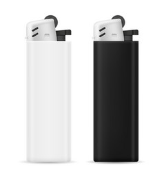 plastic disposable lighter vector image