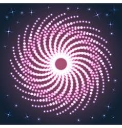 Spiral Firework vector image vector image
