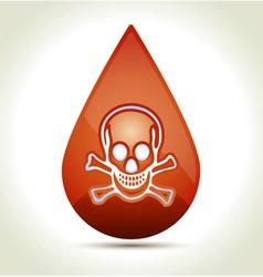 Drop of Blood vector image