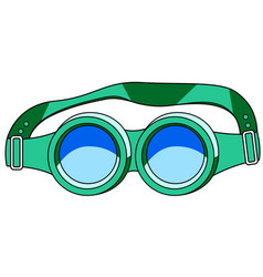protective spectacles icon vector image vector image