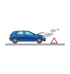 Car and Transportation Breakdown vector