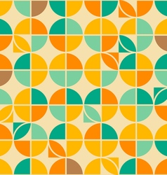 Crossed circles pattern vector