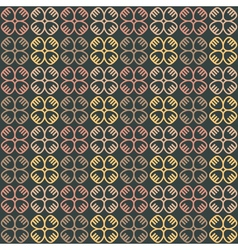 ethnic seamless pattern with symbols vector image
