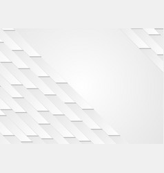 Grey abstract geometric tech background vector