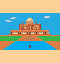 Humayun tomb vector