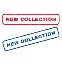 New Collection Rubber Stamps vector image