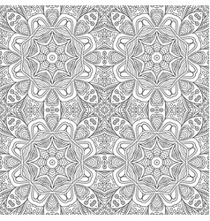 seamless ornament background ethnic motives vector image
