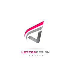 V letter logo design futuristic modern lettering vector