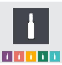 wain bottle vector image
