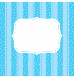 design element for greeting card vector image