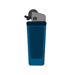lighter isolated symbol vector image
