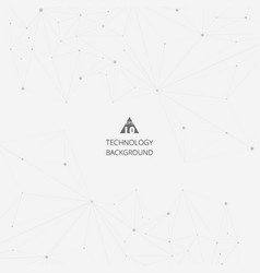 abstract of technology triangle digital vector image