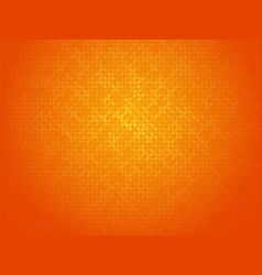 abstract orange linking dots background vector image