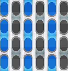 blue ellipse seamless pattern vector image