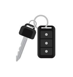 car keys with remote vector image