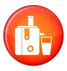 Juicer icon flat style vector image