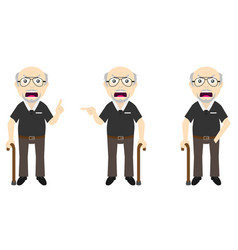 Old man set v1c vector